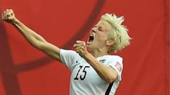 Women s World Cup Rapinoe not impressed by Blatter mindset
