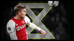 The total defender Ajax ace De Ligt in no rush for Barca