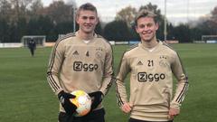 mesqueunclub gr Abidal had dinner with Ajax defender Matthijs de