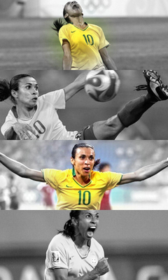 The most decorated player in women s soccer Marta Vieira da Silva