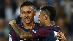 Marquinhos Neymar PSG Saint