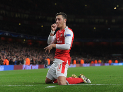 Arsenal news Mesut Ozil becomes fifth Gunners player to bag a