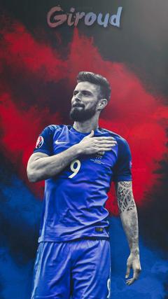 Olivier Giroud France Lockscreen Wallpapers HD by adi