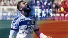 Nabil Fekir Wallpapers Lyon France