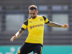 Alcacer much happier at Dortmund