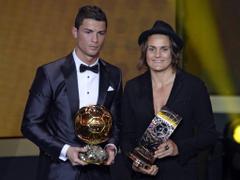 Fifa Ballon d Or Nadine Angerer winner of the women s award in