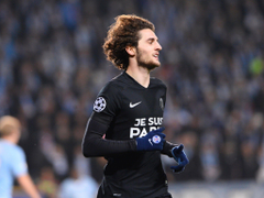 Adrien Rabiot to Arsenal PSG manager Laurent Blanc annoyed by
