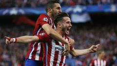 Diego Simeone believes Saul Niguez will stay at Altetico Madrid