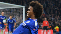 Chelsea Willian Happy After Successful Hit Wallpapers Players