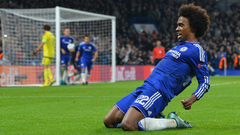 Willian shines to save Mourinho but Hazard lurks on the bench