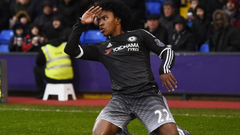 Willian a doubt for Chelsea s trip to Watford