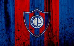 wallpapers 4k FC Cerro Porteno grunge Paraguayan Primera