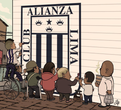 Alianza lima Wallpapers by alancitoxD
