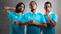 El club Sporting Cristal presentó su nueva camiseta oficial con el
