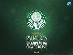 Wallpapers Palmeiras Campeão da Copa do Brasil 2012