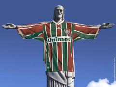 Wallpapers do Cristo Redentor com camisa do Fluminense Matéria