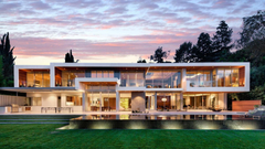 Contemporary California Mansion Wallpapers Image Bige