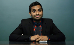 Aziz Ansari What it s really like to meet him in person for the