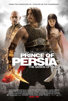 Gemma Arterton Prince of Persia movie posters Jake Gyllenhaal