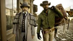 Django Unchained Christoph Waltz Jamie Foxx wallpapers