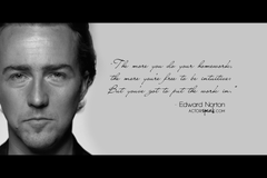 Christopher Walken Life Quote Wallpapers Edward Norton Quote On