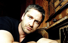 Thoughtful Gerard Butler wallpapers