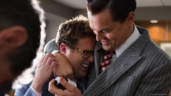 1920x1080 Leonardo DiCaprio Hugs Jonah Hill Wallpapers