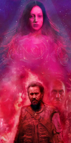 1080x2160 Mandy 2018 Nicolas Cage Wallpapers for Huawei