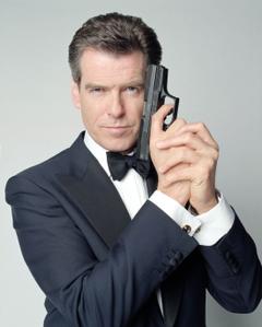 James Bond Suit Pierce Brosnan HD Wallpaper Backgrounds Image
