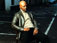 Wallpapers Samuel l jackson Jacket Sweater Chair Look Actor