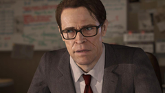 Beyond Two Souls Willem Dafoe Wallpapers PS3 Games Wallpapers Res