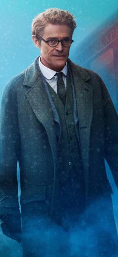 x2436 Willem Dafoe As Hardman In Murder On The Orient Express