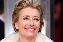 Emma Thompson cuts up after Sweeney Todd