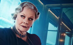 Judi Dench As Princess Dragomiroff In Murder On The Orient Express