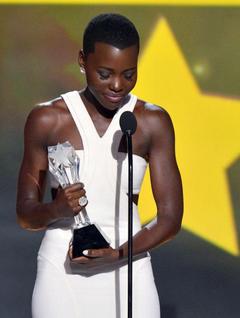 Lupita Nyong o Receives a Standing Ovation