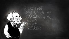 Albert Einstein Physics Chalk Board Math wallpapers