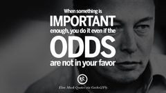 Elon Musk Quotes on Business Risk and The Future