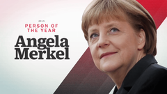 Angela Merkel Named TIME Person of the Year