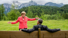 That Time Obama and Angela Merkel s Conversation Turned Into a Scene