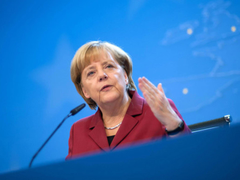 Merkel We support dialogue but territorial integrity is important