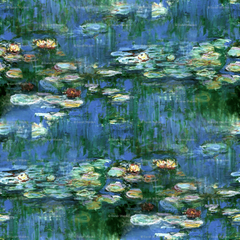 Claude Monet Water Lilies 1916 Large wallpapers