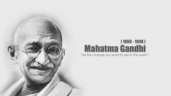 Mahatma Gandhi wide HD wallpapers and image