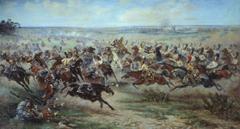 Paintings war history battles historic napoleon bonaparte cavalry