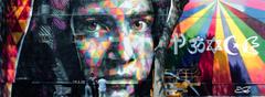 Eduardo Kobra wall dedicated to Malala Yousafzai at MAAM The