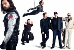 Avengers Infinity War Bucky Barnes Iron Man Rocket Hope Pym Stan Lee