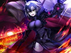 Jeanne d Arc Fate Grand Order anime wallpapers