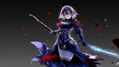 Wallpapers Jeanne d Arc Alter Avenger Fate Grand Order 4K 8K