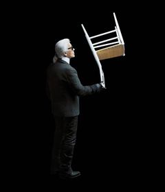 Karl Lagerfeld snaps Cassina furniture for a new art book