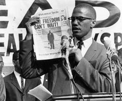 Malcolm X Muses It Men