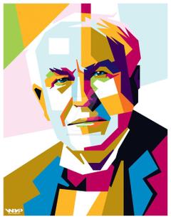 Thomas Edison Clipart Group